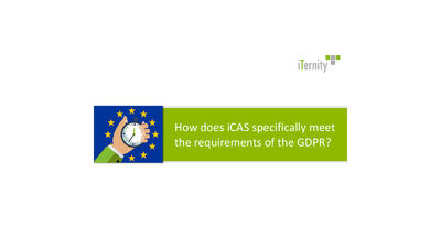Download Whitepaper: How iCAS meets the requirements of the